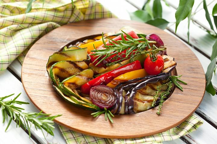 Овощи на гриле дома рецепт